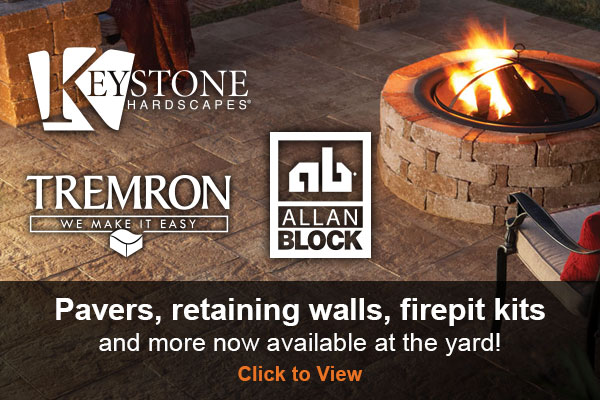 Pavestone Allan Block Pavers retaining wall
